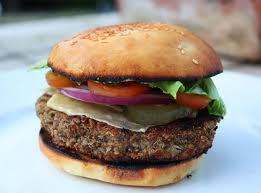 Garden burger: Great source of culinary delight